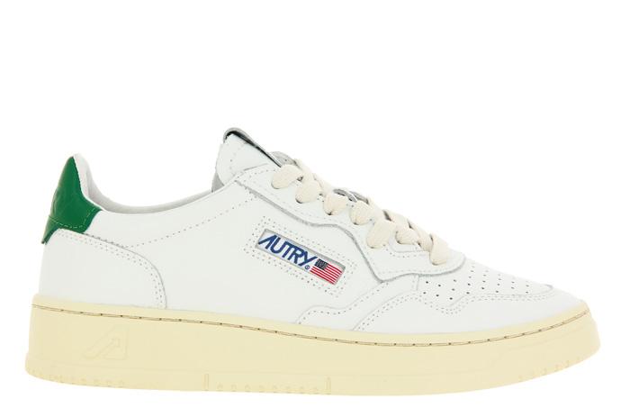 Autry Sneaker LOW WOMAN WHITE GREEN