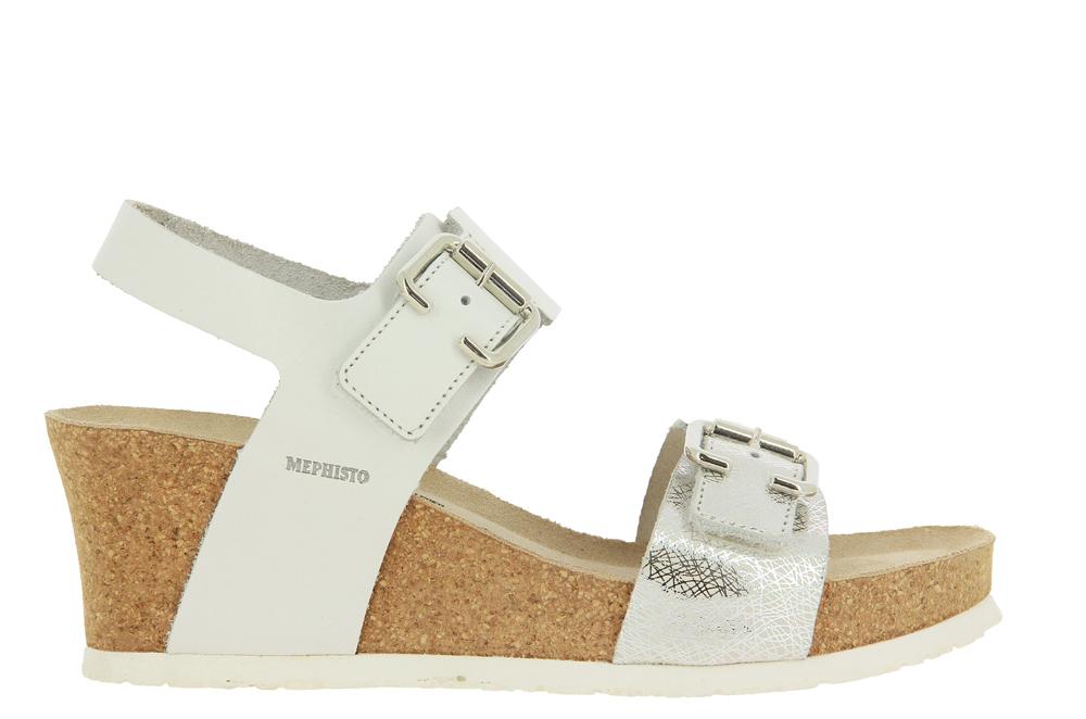 Mephisto wedge sandals LISSANDRA WHITE