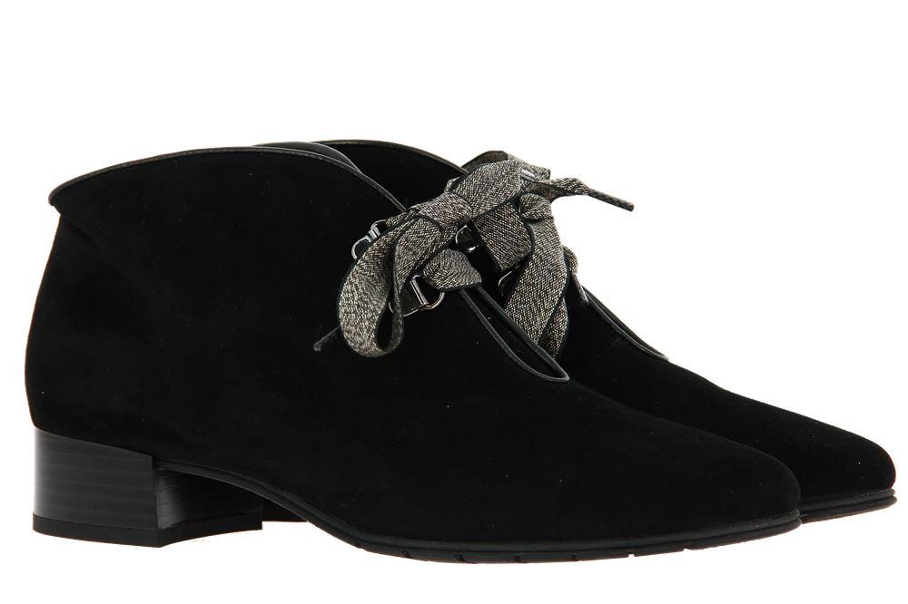 Brunate ankle boots PIA CAMOSCIO NERO NAPPA NERO