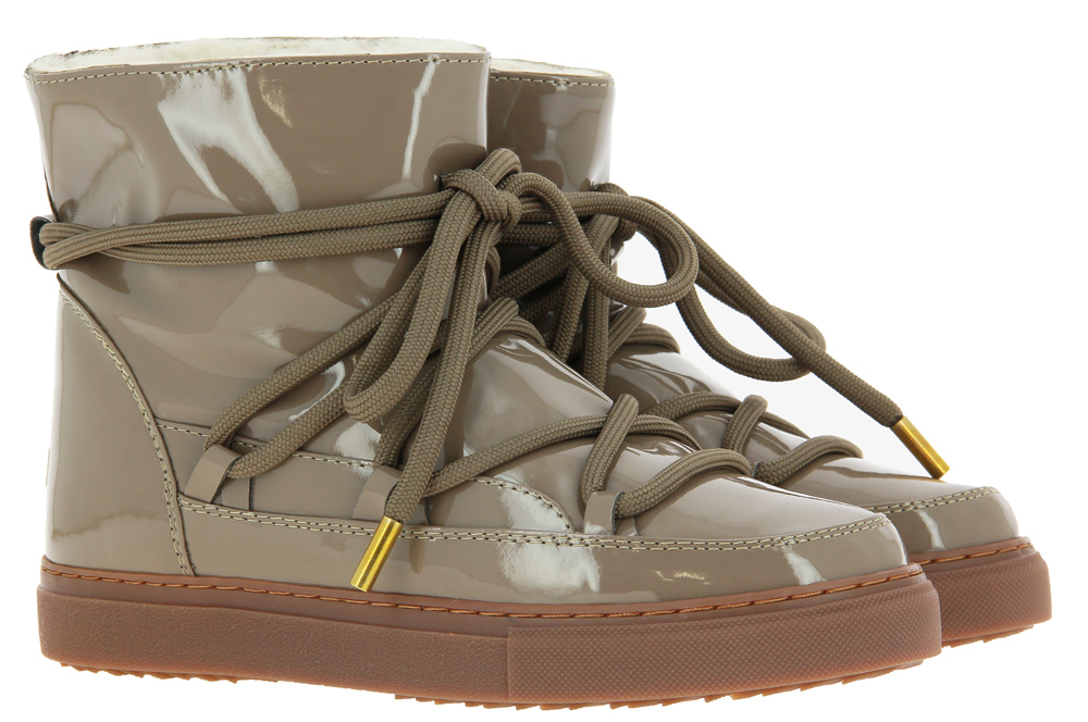 INUIKII sneaker boots lined VERNICE TAUPE