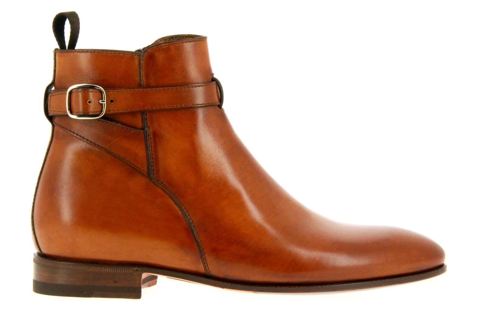 Benson´s ankle boots BOX COGNAC