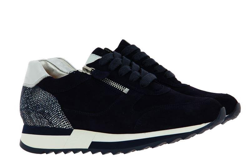 Hassia sneaker MADRID K-WEITE SAMTZIEGE BLUE SILVER