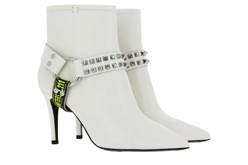 Ash ankle boots BRITNEY WHITE SILVER