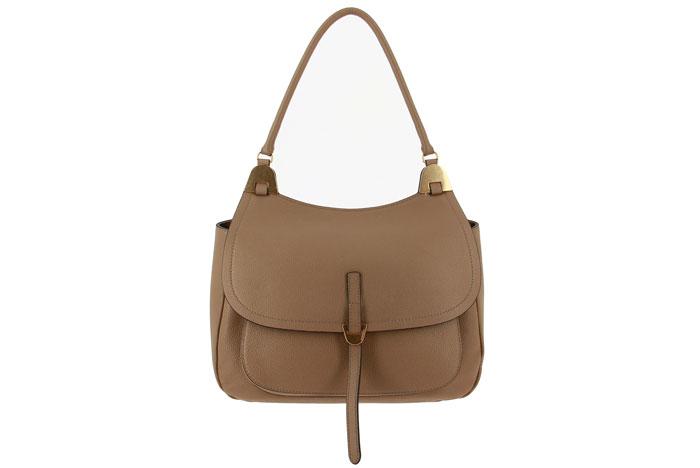 Coccinelle handbag FAUVE BORSA VITELLO TAUPE