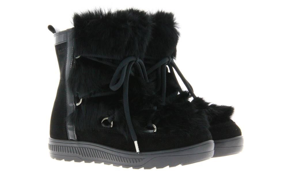 Oscar Sport fur boots ANET-SHORT NERO