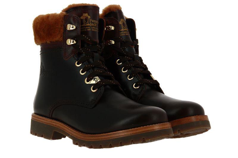 Panama Jack ankle boots lined 03 IGLOO BROOKLYN B2 PULL-UP MARRON