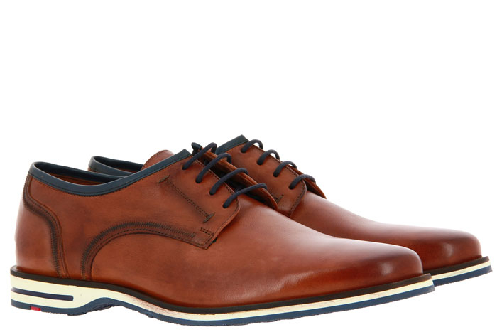 Lloyd lace-up DETROIT LUCCA CALF COGNAC