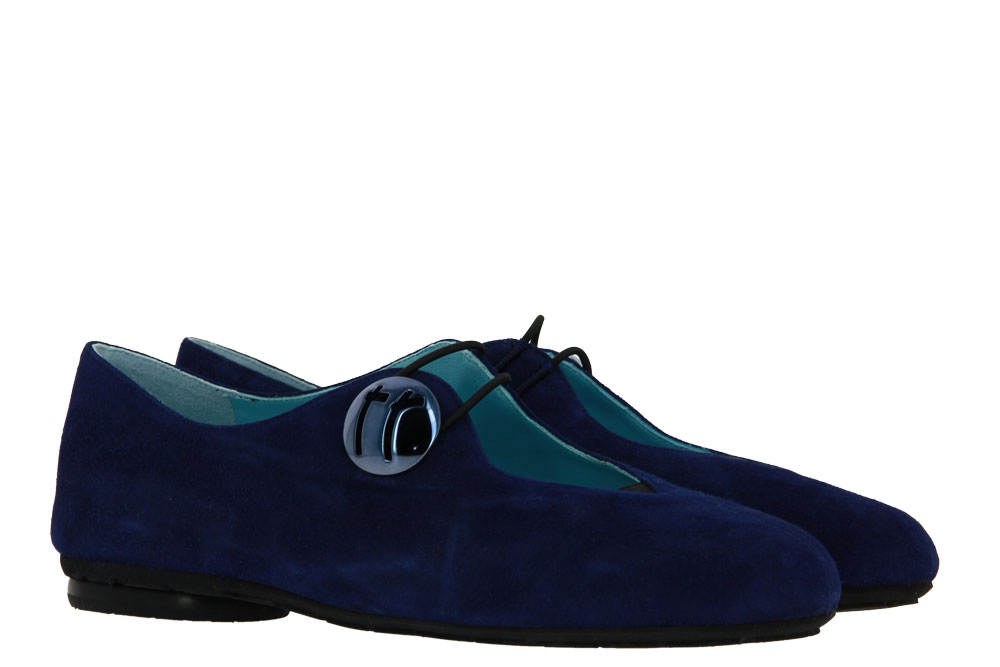 Thierry Rabotin sneaker CAMOSCIO COBALT BLUE