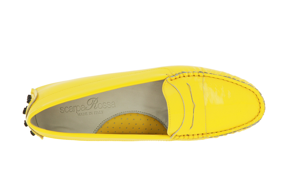 ScarpaRossa Slipper Gomma VERNICE GIALLO YELLOW