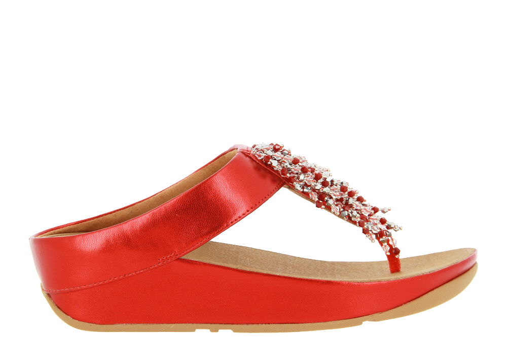Fitflop mules RUMBA BEADED TOE-POST SANDALS