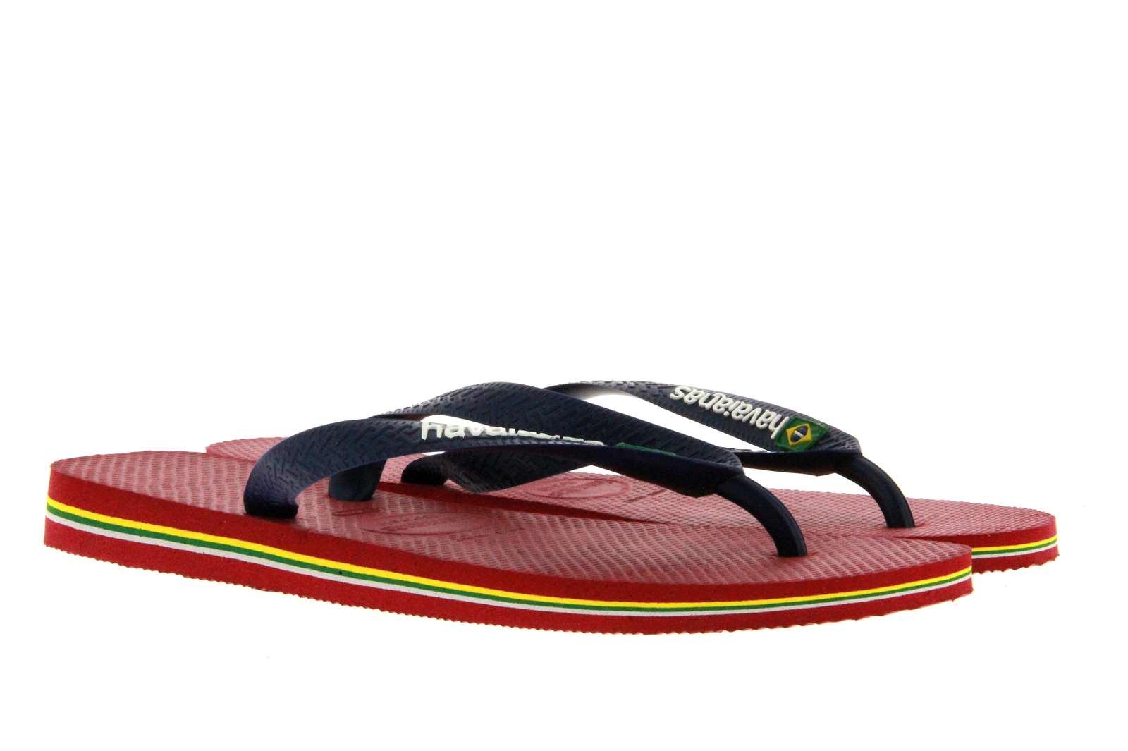 Havaianas toe sandal MEN BRASIL LOGO RED