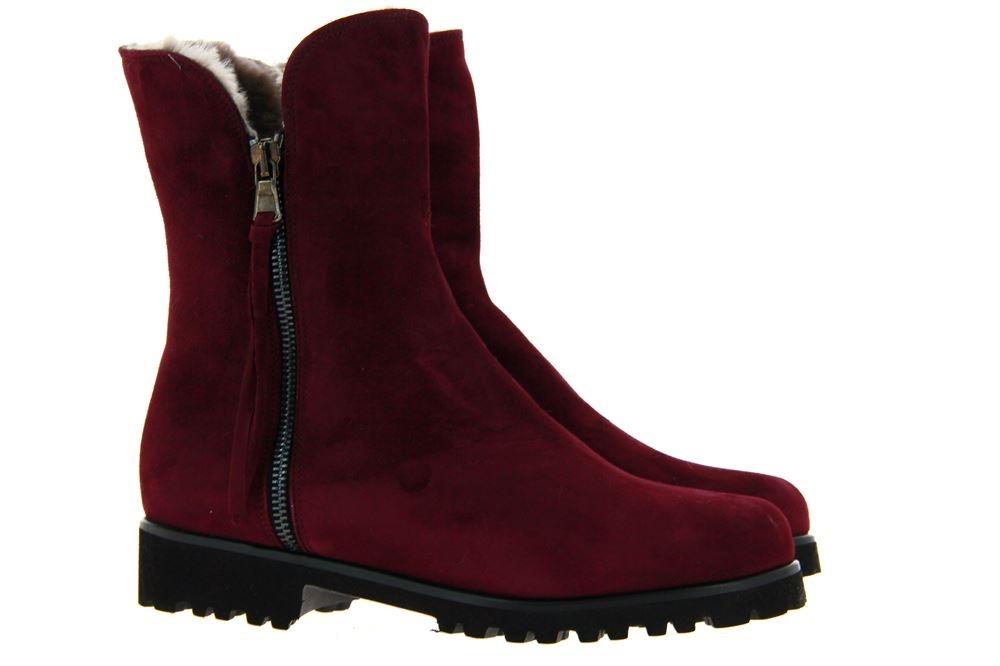 Gabriele ankle boots lined SILVIA CAMOSCIO BORGOGNA