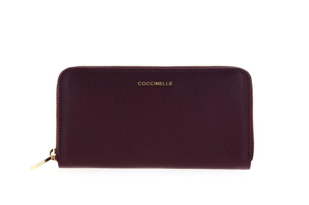 Coccinelle wallet VITELLO PLUM