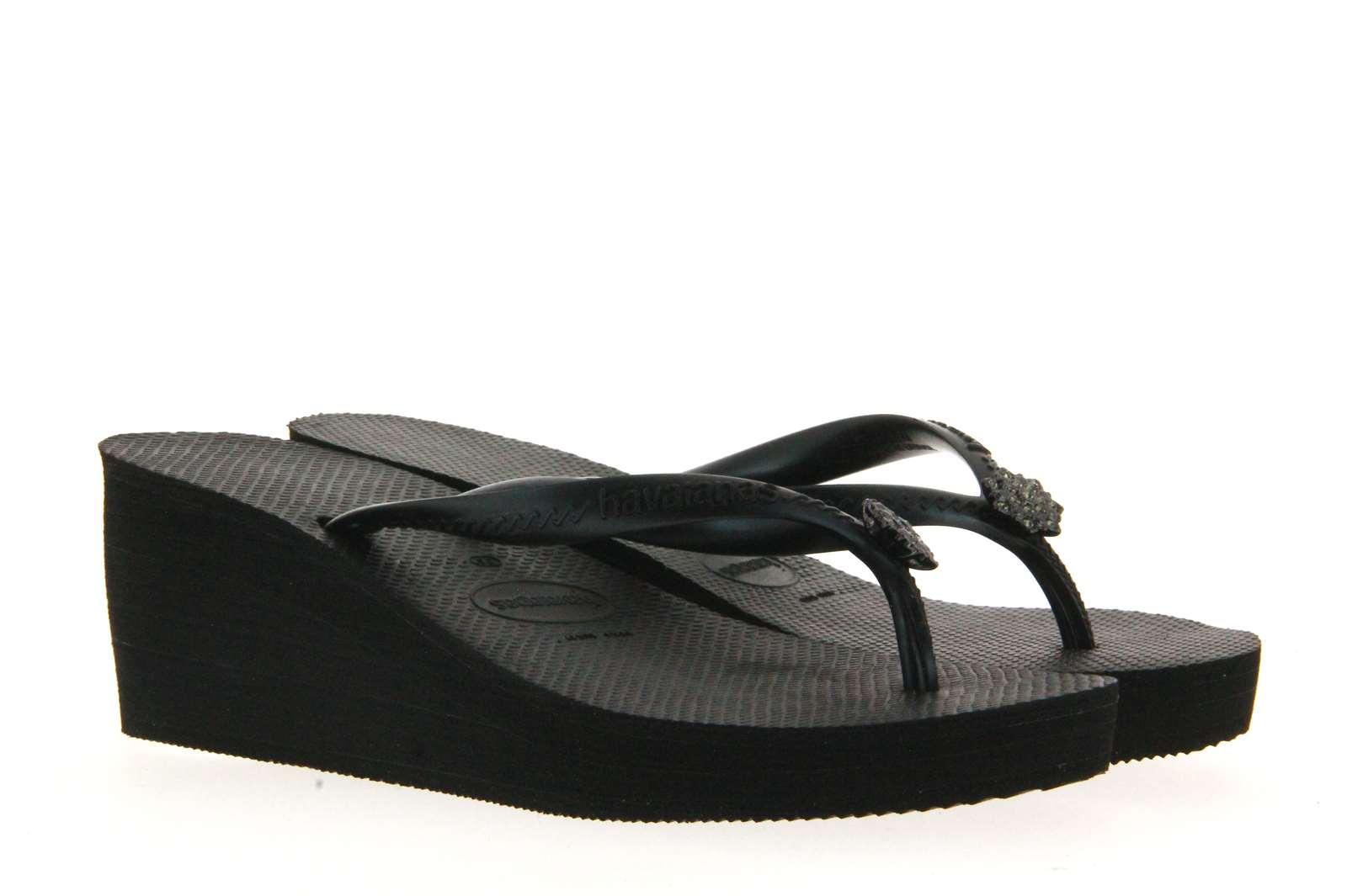 Havaianas toe sandals HIGH FASHION POEM BLACK
