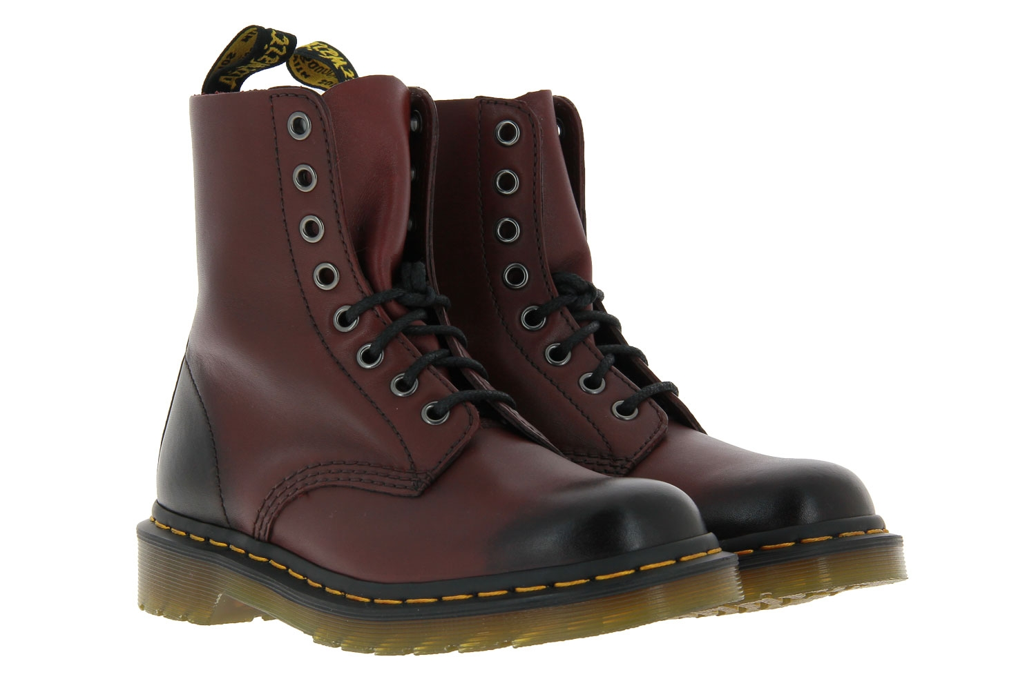 Dr. Martens boots PASCAL CHERRY RED ANTIQUE TEMPERLEY