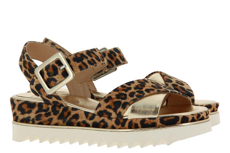 Luca Grossi sandals LUXOR 58 PLATINO CAMEL
