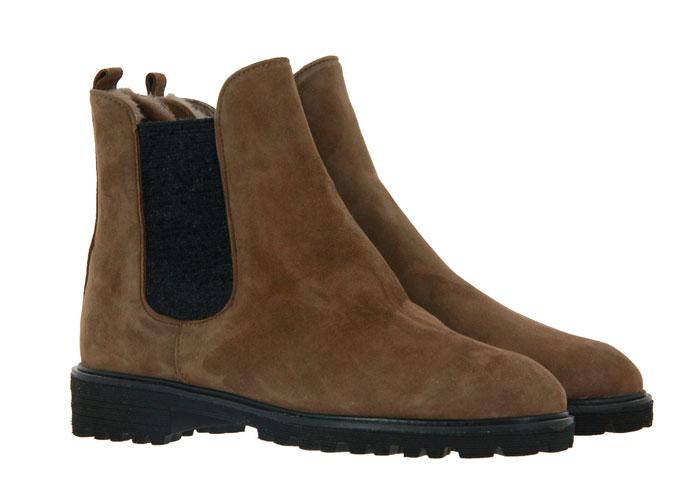 Brunate ankle boots lined TANK ELASTICO MAGIC NERO