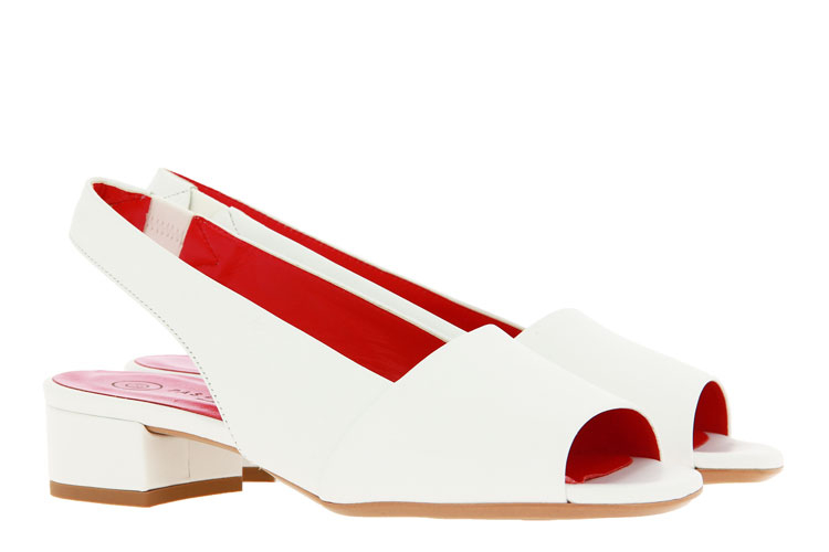 Pas de rouge sandals NAPPA BIANCO