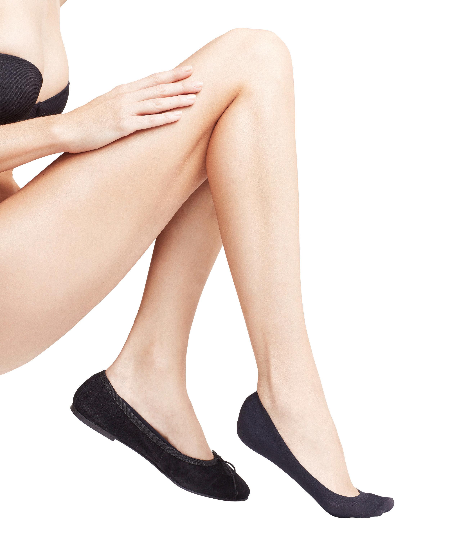 FALKE Seamless Step ladies ankle socks BLACK