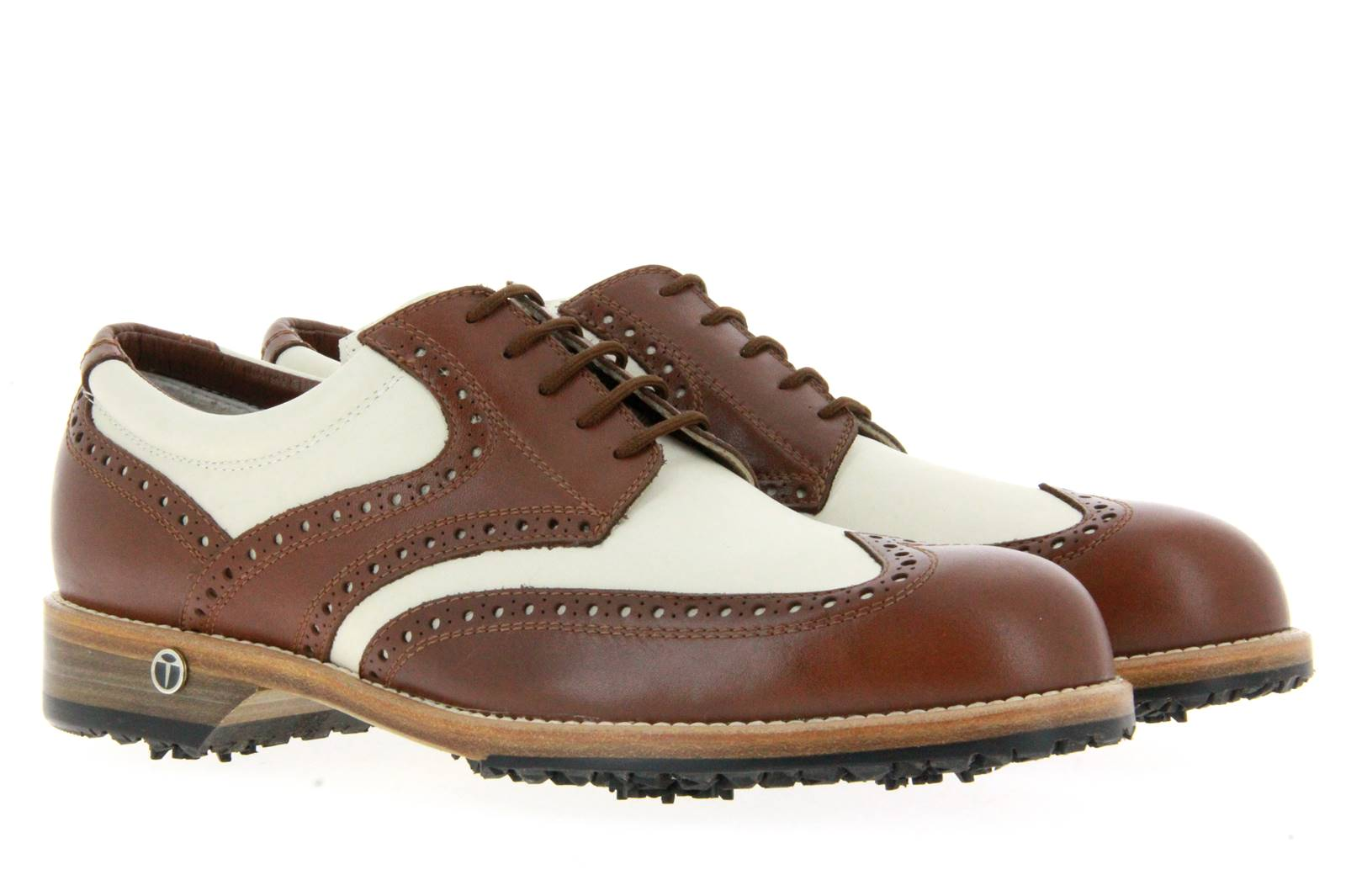 Tee Golf Shoes men's - golf shoe TOMMY BRANDY BEIGE