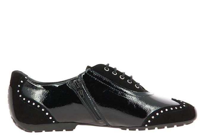 Mania sneaker VELOUR NAPLACK BLACK