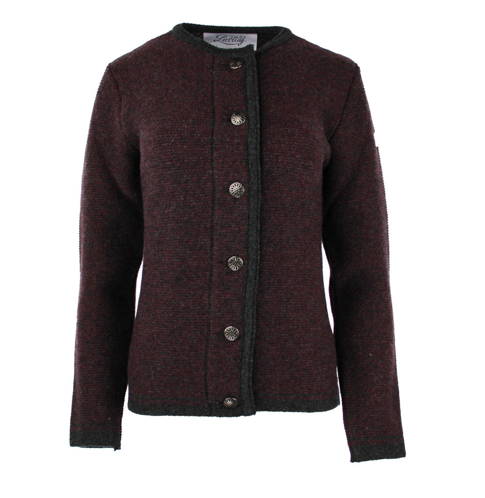 Liebling knitted janker ANITA NEBUL ANTHRAZIT