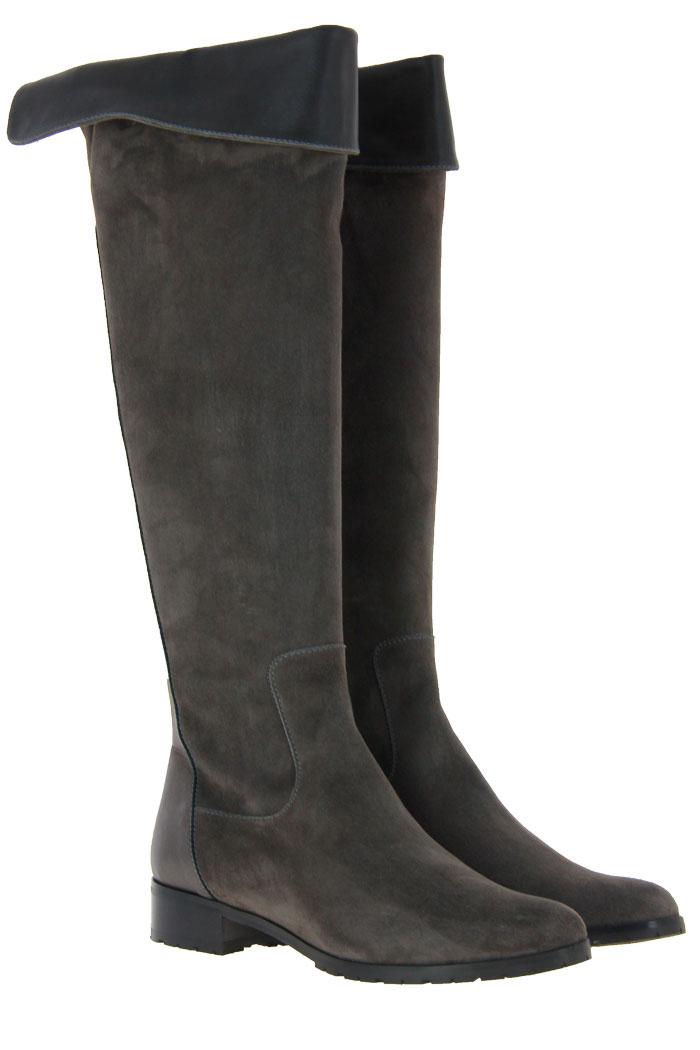 Blubella boots CAMOSCIO TOPO
