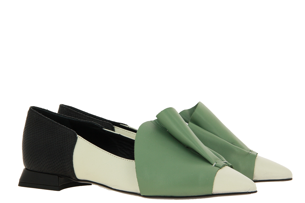 Kate Libertine slipper BURRO MENTA NERO