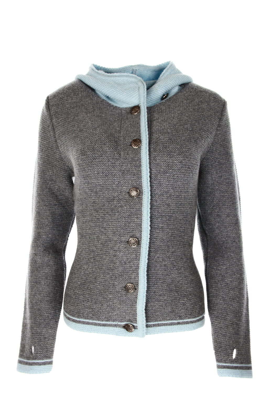 Liebling Tyrolean jacket KATHARINA GRAU HELLBLAU