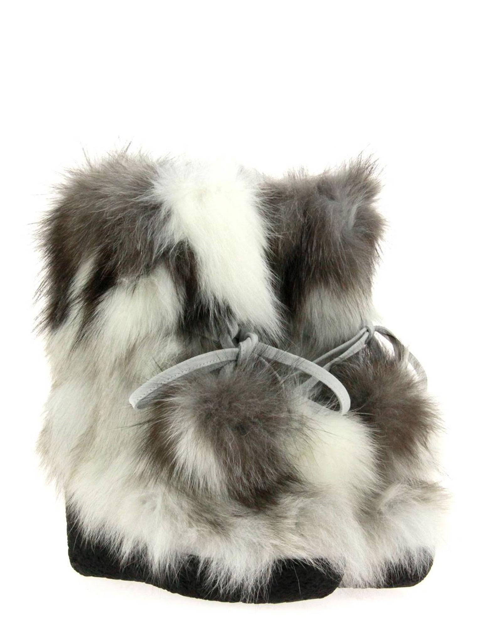 Diavolezza fur boots GROENLANDIA ARTIC FOX