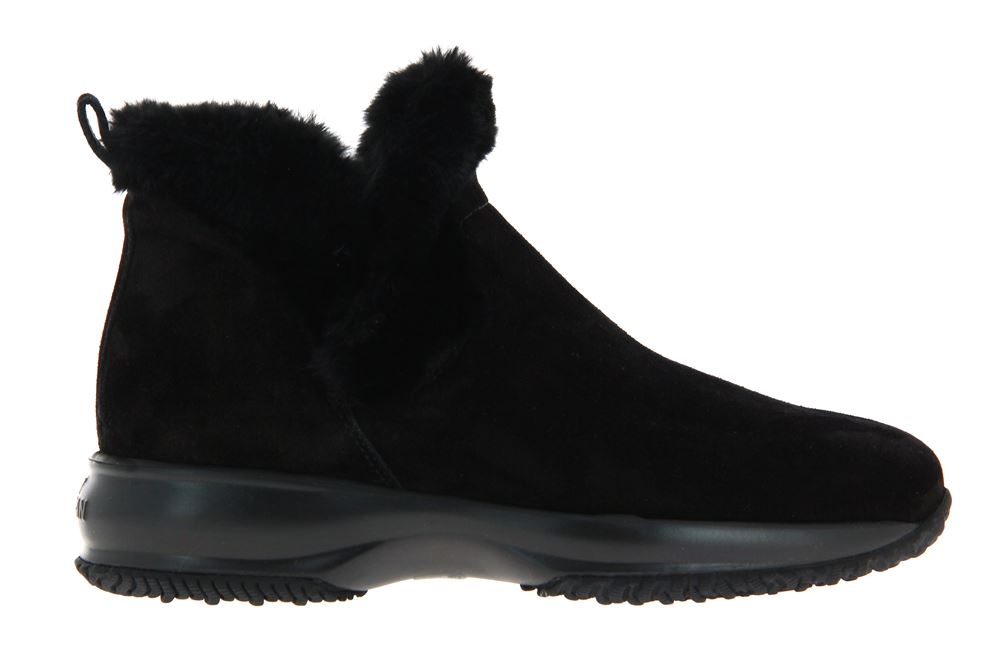 Hogan ankle boots lined INTERACTIVE SLIPON NERO