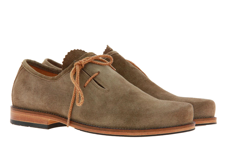 Dirndl + Bua traditional shoe ANTIKBOCK TAUPE