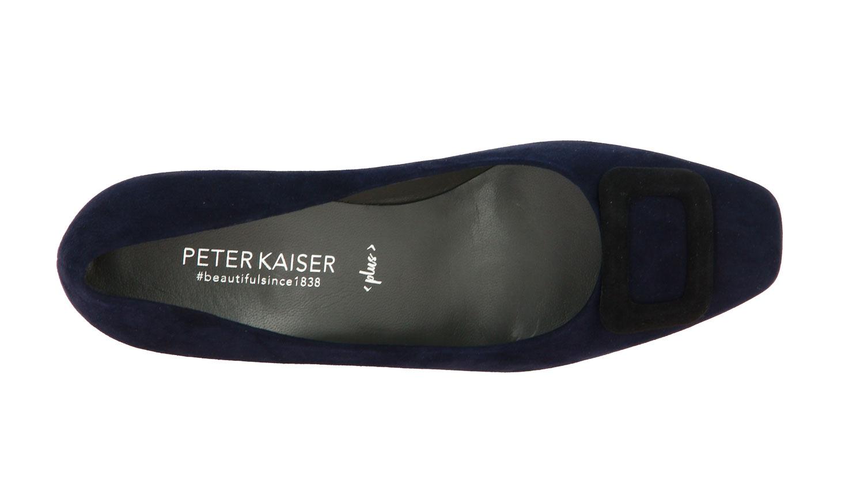 Peter Kaiser pumps PANNI NAVY SUEDE SCHWARZ