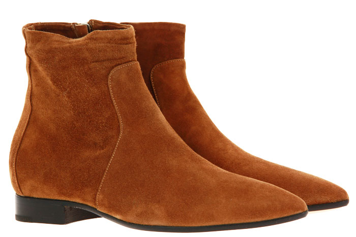 Pomme D'Or ankle boots CAMOSCIO TOFFEE
