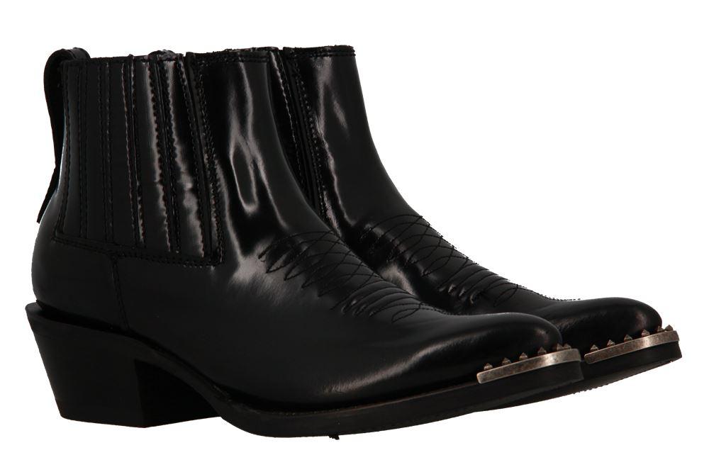 Ash ankle boots PEPPER BLACK OLD NIQUEL STUDS