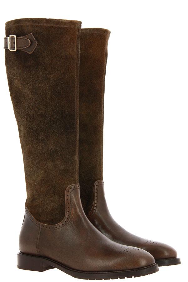 Dirndl + Bua boots NEVADA ANTIKBOCK STRETCH MORO/AKAZIE