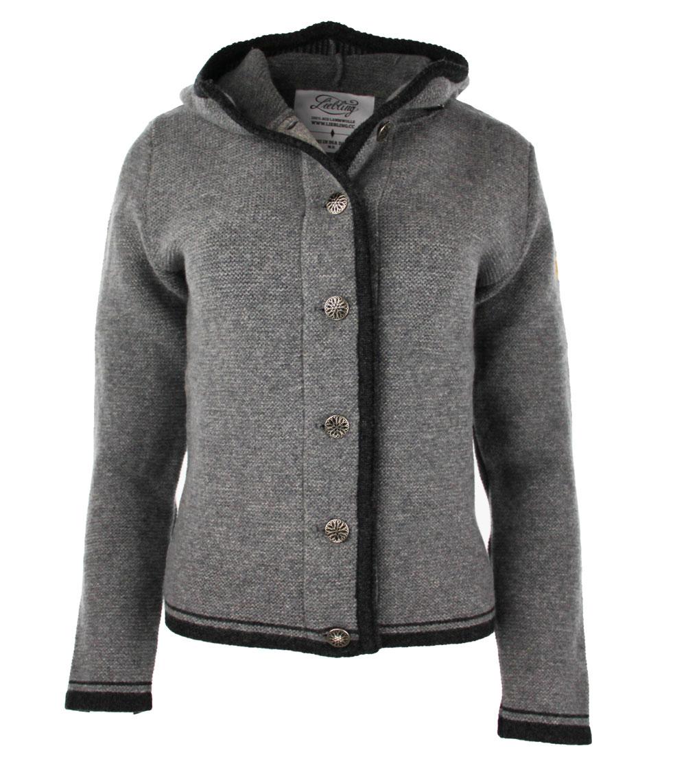 Liebling knitted janker VERA GRAU ANTHRAZIT