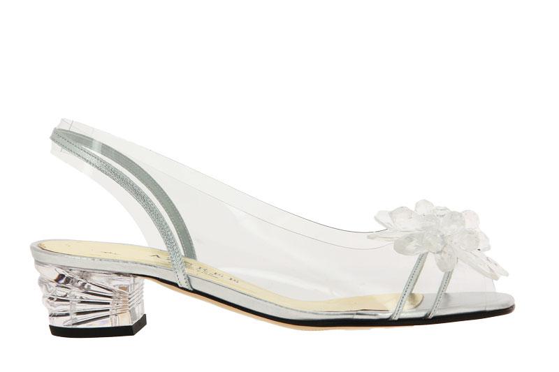 Azuree Cannes sandals MACADA METAL ARGENT MOTF CRISTAL