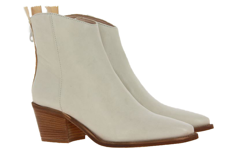 Donna Carolina ankle boots TEXAS BIANCO