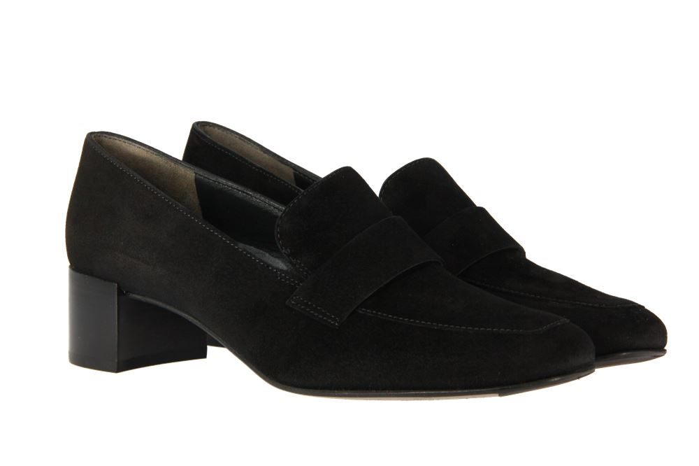 Paul Green loafer SAMTZIEGE SCHWARZ