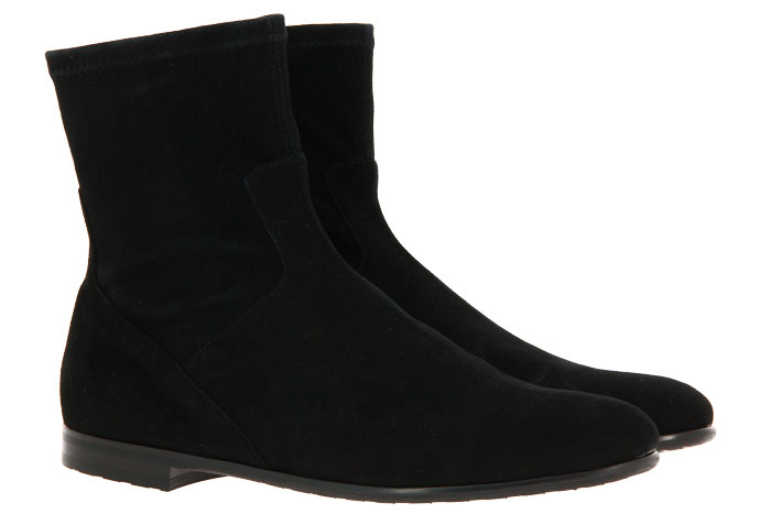 Truman's ankle boots CAMOSCIO NERO