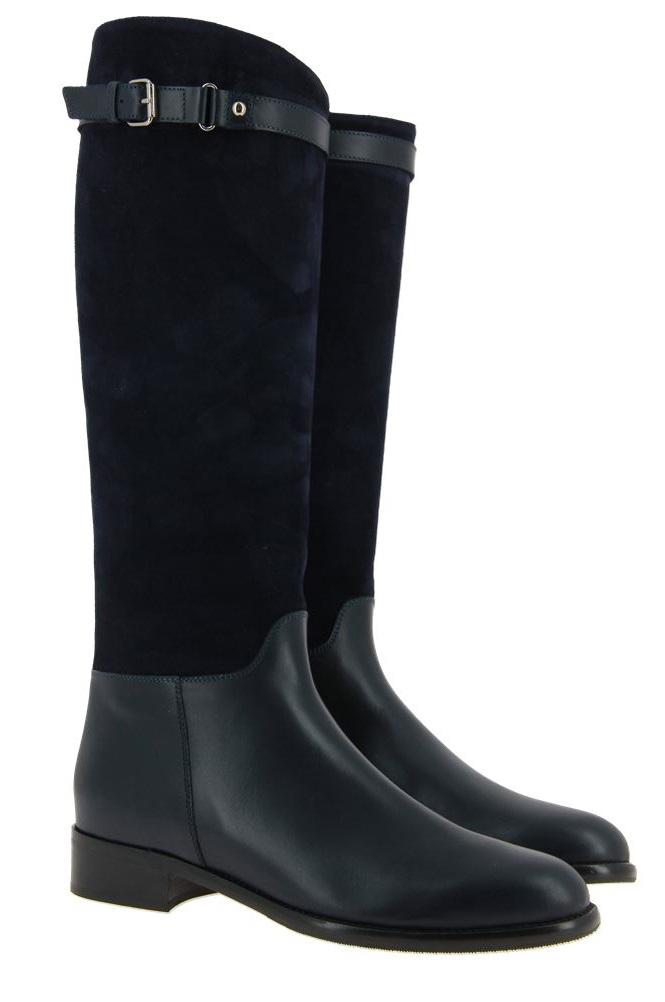 Maretto boots BLUE CAMOSCIO