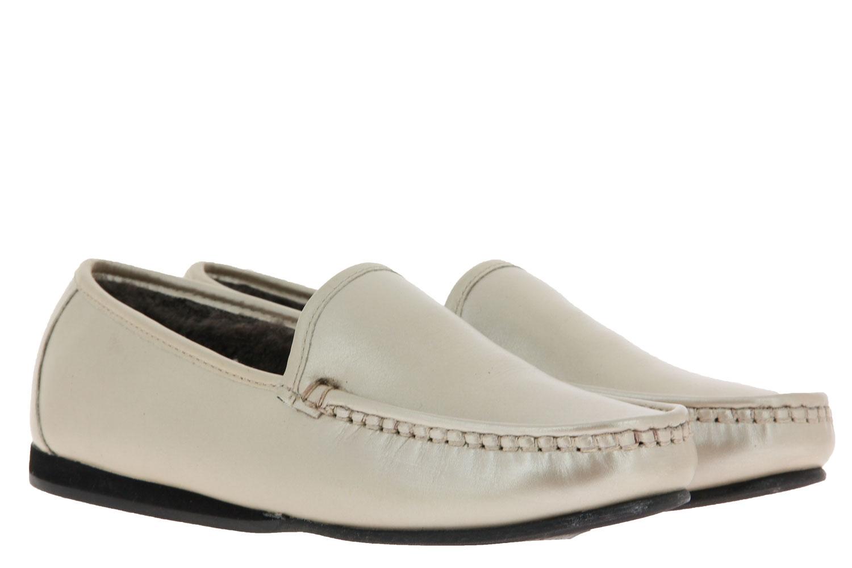 Fortuna house shoe lined ELLA MOK COW PERLATO TR GOLD