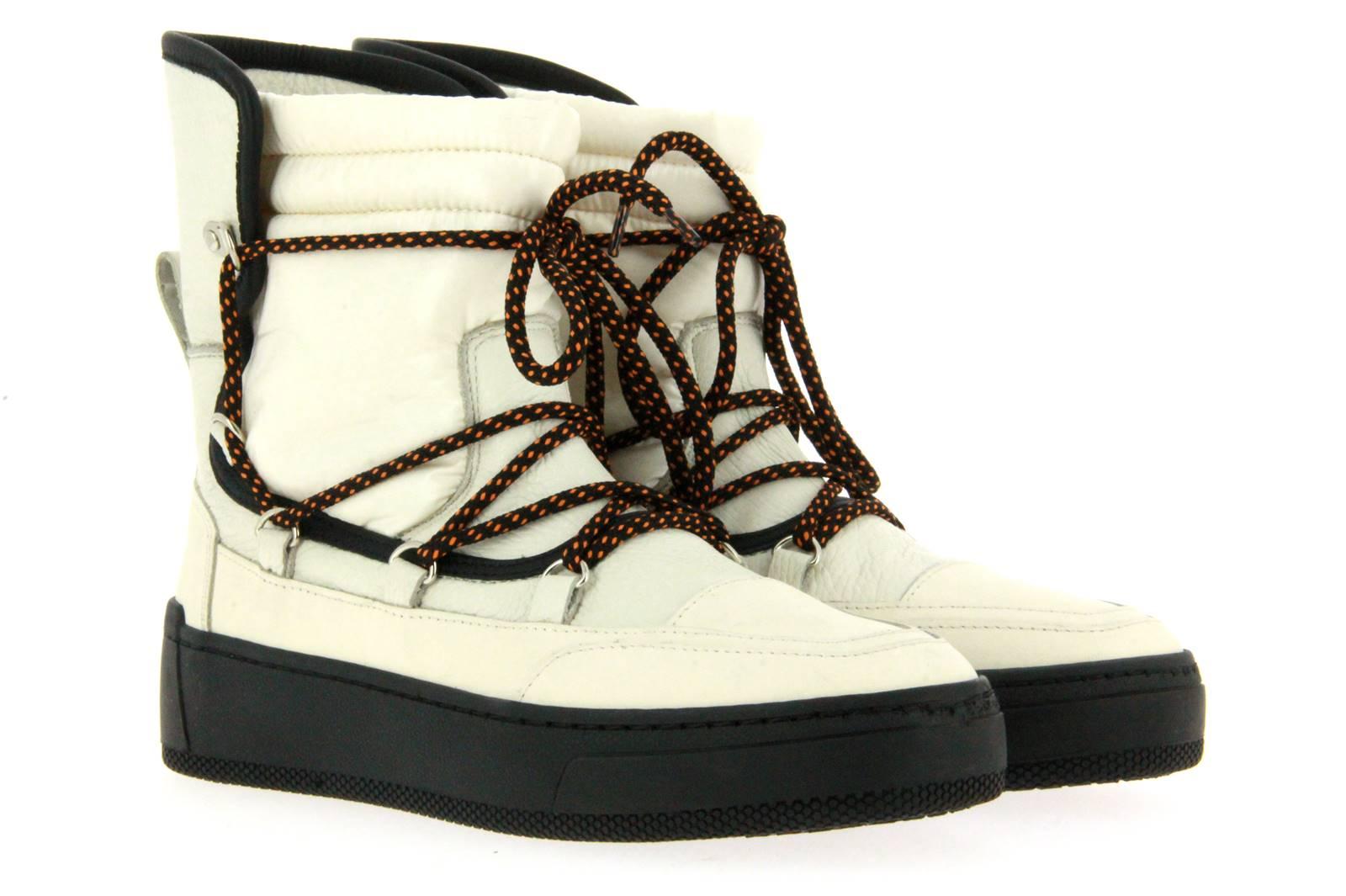 Candice Cooper boots ALASKA.F NYLON BIANCO