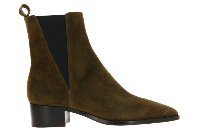 Pomme D'Or ankle boots SYBIL CAMOSCIO MILITARY