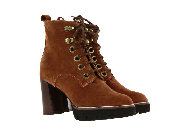 Maripe ankle boots VELOUR CIGAR