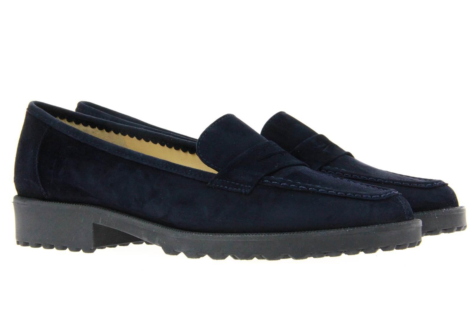 Brunate slipper DANY CAMOSCIO BLU