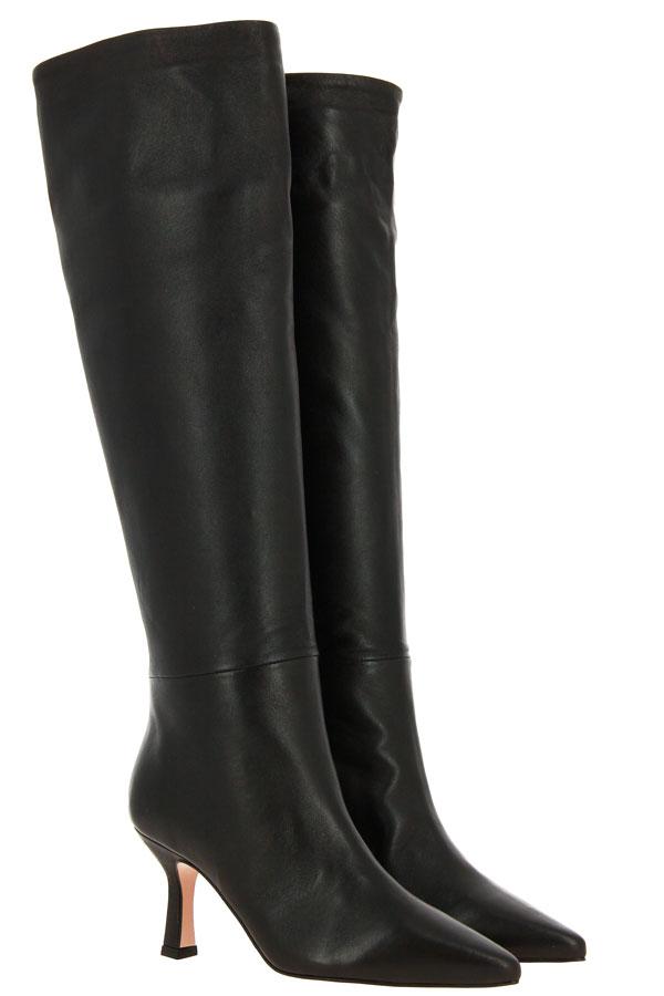 BiancaDi slip-on boots NAPPA NERO