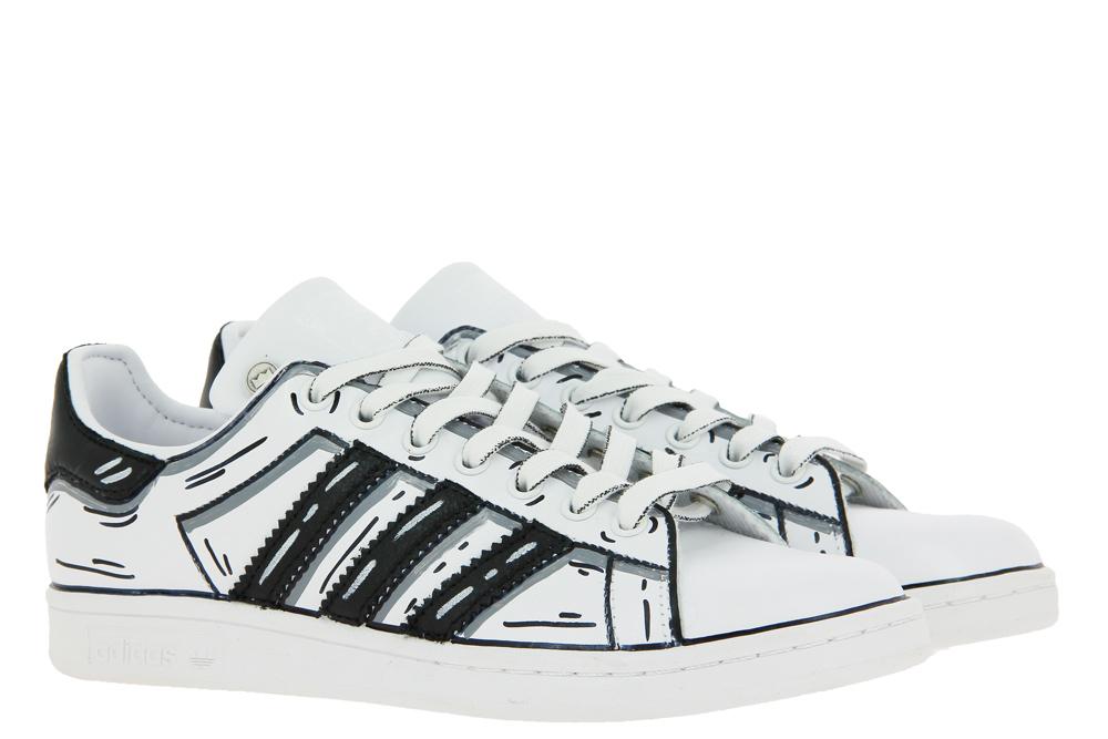 Adidas sneaker by BallodaSola CARTOON NERO