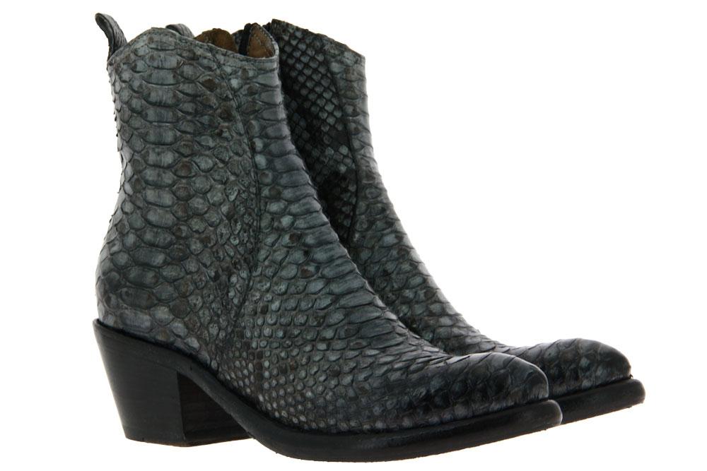La Bottega di Lisa ankle boots PITONE GRIGIO